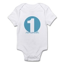 1 Month Identifier Infant Bodysuit