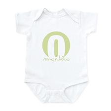 0 Months Identifier Infant Bodysuit