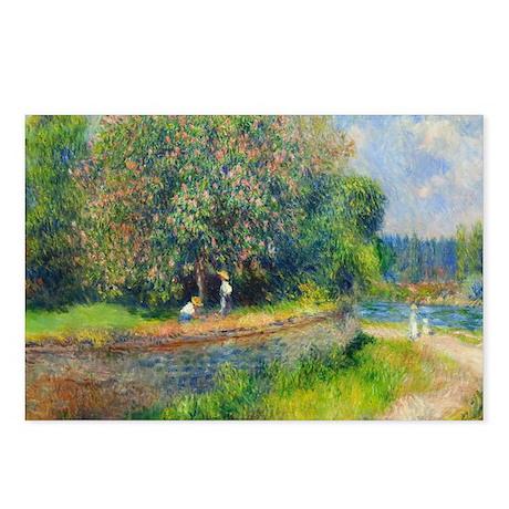 Renoir - Chesnut Tree Postcards (Package of 8)