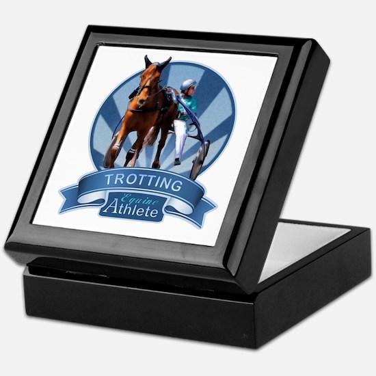 Blue Ribbon Trotting Keepsake Box