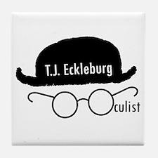 Unique Literary Tile Coaster