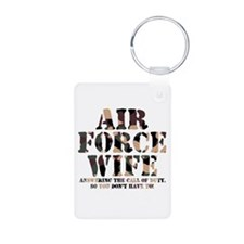 AF Wife Answering Call Keychains