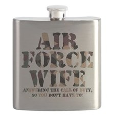 AF Wife Answering Call Flask