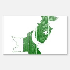 Pakistan Flag And Map Decal