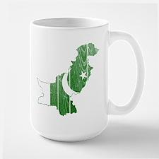 Pakistan Flag And Map Mug