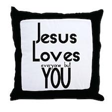JesusLove Throw Pillow