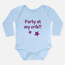 Unique Crib Long Sleeve Infant Bodysuit
