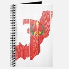 Peoples Republic Of The Congo Flag And Map Journal