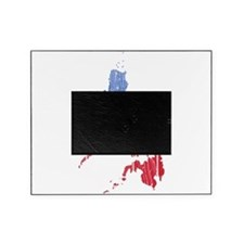 Philippines Flag And Map Picture Frame