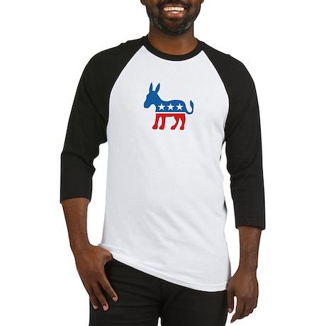 Democratic Donkey Democrat Baseball Jersey