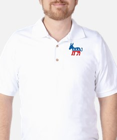 Democratic Donkey Democrat Golf Shirt