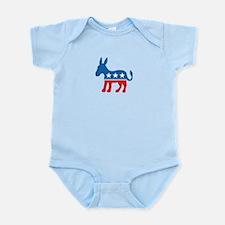 Democratic Donkey Democrat Infant Bodysuit