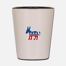 Democratic Donkey Democrat Shot Glass
