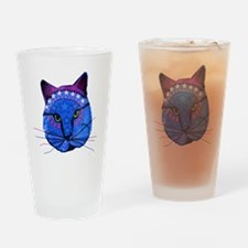 Super Star Kitty Drinking Glass