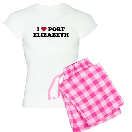 I Love Port Elizabeth Women's Light Pajamas