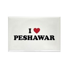 I Love Peshawar Rectangle Magnet