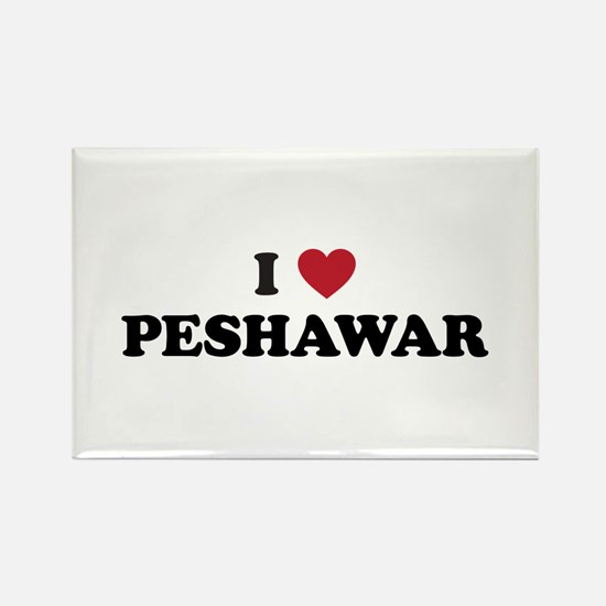 I Love Peshawar Rectangle Magnet