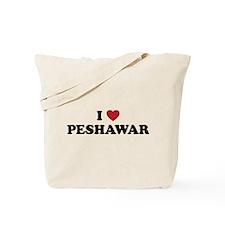 I Love Peshawar Tote Bag