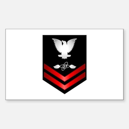 Navy PO2 Aviation Electronics Tech Decal