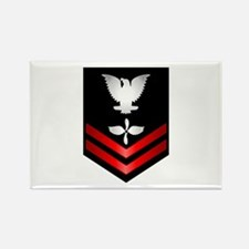 Navy PO2 Aviation Machinist's Mate Rectangle Magne