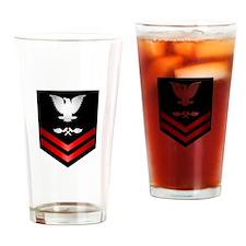 Navy PO2 Aviation Structure Mechanic Drinking Glas