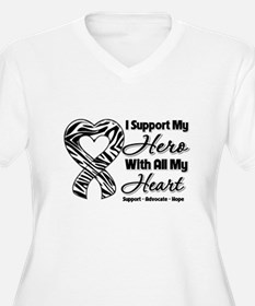 Support Hero Carcinoid Cancer T-Shirt