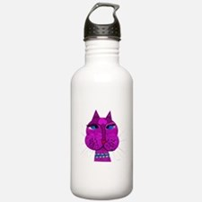 Cross-eyed Over You Kitty Water Bottle