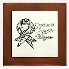 Carcinoid Cancer Warrior Framed Tile