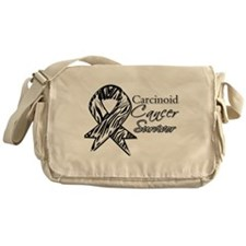 Carcinoid Cancer Survivor Messenger Bag
