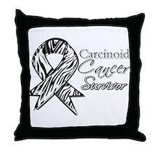 Carcinoid Cancer Survivor Throw Pillow