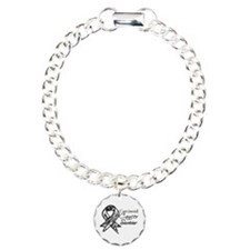 Carcinoid Cancer Survivor Charm Bracelet, One Char