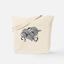Carcinoid Cancer Hope Ribbon Tote Bag