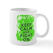 Lymphoma Keep Calm Fight On Mug