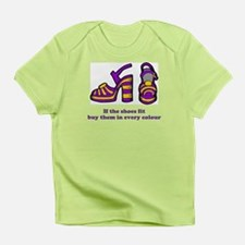 DaisyBoo If The Shoes Fit baby T-Shirt