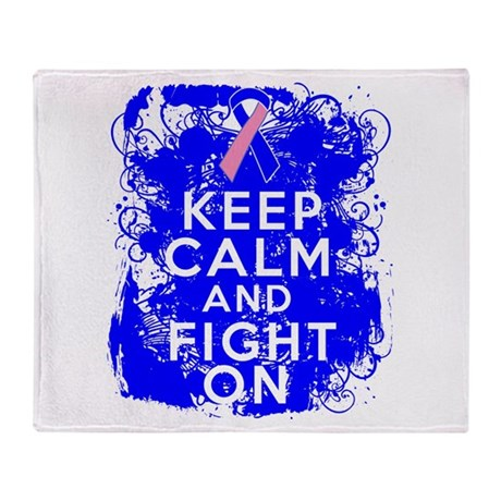 Male Breast Cancer Keep Calm Fight On Stadium Bla
