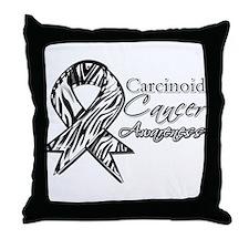 Awareness Carcinoid Cancer Throw Pillow