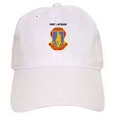 Fort Jackson with Text Baseball Cap