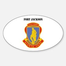 Fort Jackson with Text Decal