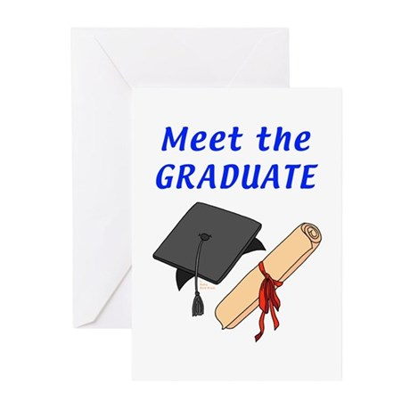 Graduation Greeting Cards (Pk of 10)