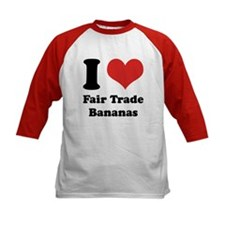 I Heart Fair Trade Bananas Tee