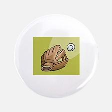 """Baseball 3.5"""" Button"""