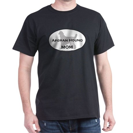 Afghan Hound MOM Black T-Shirt