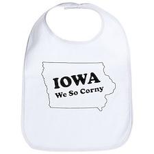 Iowa, We so corny Bib