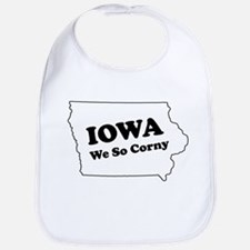 Iowa, We so corny Bib