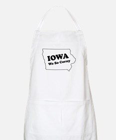 Iowa, We so corny BBQ Apron