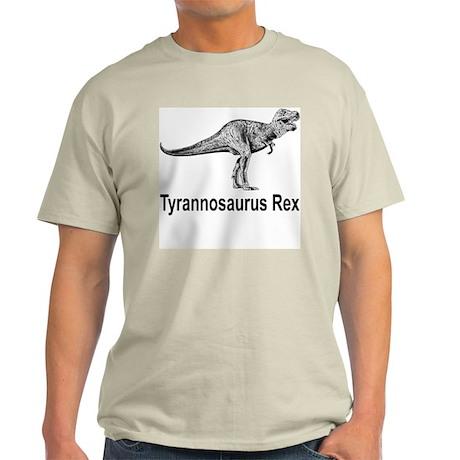 Tyrannosaurus Rex Ash Grey T-Shirt