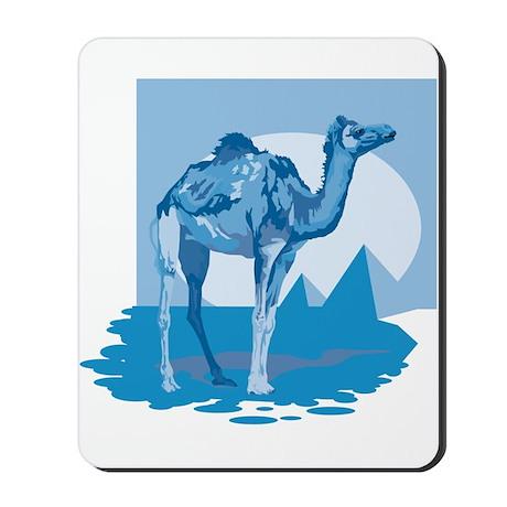 Camel in Egypt Mousepad