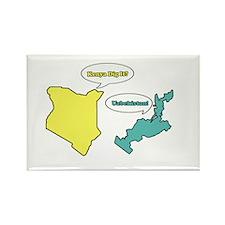 Kenya Dig It? Uzbekistan Rectangle Magnet