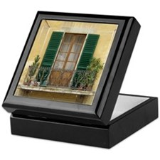 Green Shutters Keepsake Box
