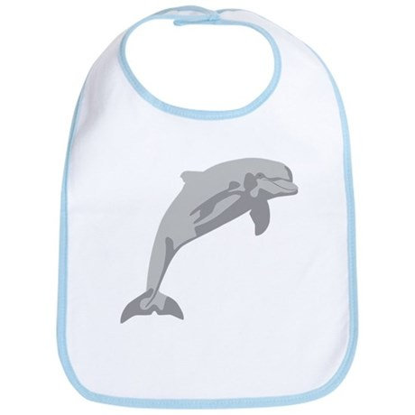Leaping Dolphin...cheerful and charming... Bib
